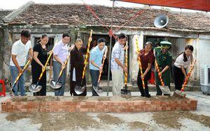 Ninh Bình: Khởi công xây dựng nhà tình nghĩa cho hộ cận nghèo