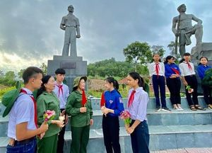 Kỷ niệm 70 năm ngày thành lập Đội Thanh niên Xung phong đầu tiên