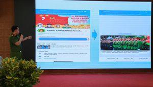 Ra mắt mô hình trang Zalo Công an phường Phước Ninh