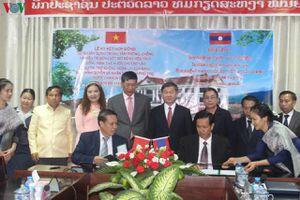 Việt Nam tặng Lào Trung tâm phòng chống và điều trị sốt rét