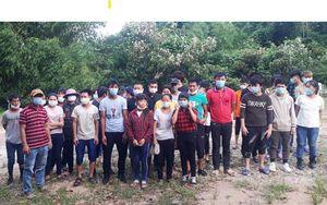 Cách ly 37 người nhập cảnh trái phép vào Việt Nam