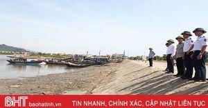 Ban Chỉ đạo Trung ương về phòng chống thiên tai kiểm tra thực tế tại Hà Tĩnh