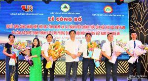 Hiệp hội bất động sản Nghệ An trở thành thành viên chính thức của Hiệp hội bất động sản Việt Nam