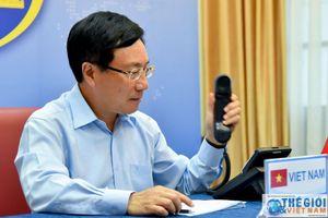 Bộ trưởng Ngoại giao Anh chúc mừng Việt Nam thành công trong ứng phó với dịch Covid-19