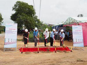 Tân Hưng (Long An): Green Vietnam Fund khởi công xây dựng 9 cây cầu mới