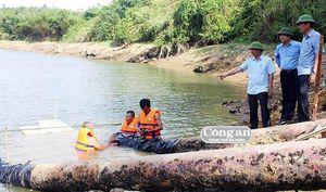 Hạn hán khốc liệt, Quảng Trị phải xả hồ chứa nước cứu... sông