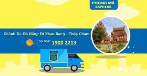 Chuyển phát nhanh Phong Mã khai trương chành xe Đà Nẵng đi Phan Rang-Tháp Chàm