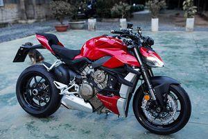Dân chơi Hưng Yên 'tậu' Ducati Streetfighter V4 cả tỷ đồng