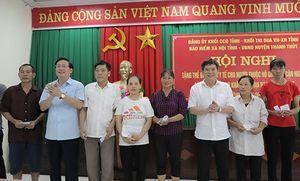 Phú Thọ: Hỗ trợ thêm 15% mức đóng BHXH cho người thuộc hộ cận nghèo