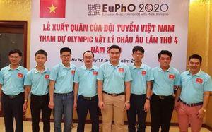 Kì thi Olympic Vật lý Châu Âu: Việt Nam xuất sắc đoạt huy chương vàng