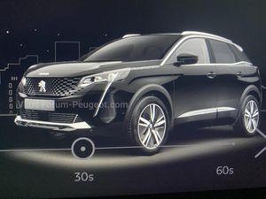 Rò rỉ phiên bản mới của Peugeot 3008
