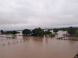Đắk Lắk: Hàng chục căn nhà bị chìm trong nước, giao thông bị chia cắt do mưa lớn