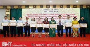 Người Hà Tĩnh tự hào về lịch sử ngành Tuyên giáo