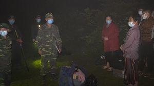 Bộ đội Biên phòng Hà Giang đội mưa xuyên đêm truy bắt người nhập cảnh trái phép