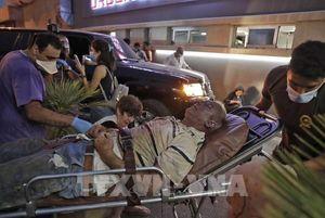 Vụ nổ ở Beirut: Hơn 5.000 người bị thương và 250.000 người mất nhà cửa