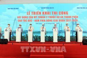 Xây dựng cầu Mỹ Thuận 2 vốn đầu tư trên 5.000 tỷ đồng