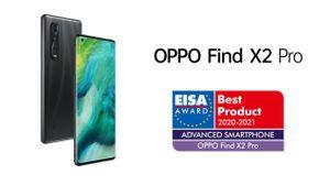 OPPO Find X2 Pro nhận giải thưởng của EISA Awards 2020-2021 dành cho sản phẩm công nghệ