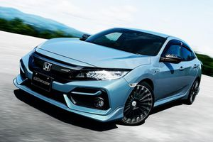 Honda Civic 2020 hầm hố hơn với gói phụ kiện Mugen