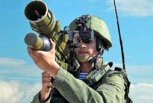 Tên lửa vác vai Verba: 'Chiếc ô' che chở tầm thấp cho quân đội Nga