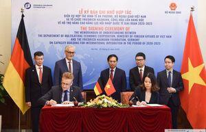 Tăng cường hợp tác hỗ trợ nâng cao năng lực hội nhập quốc tế giai đoạn 2020-2023