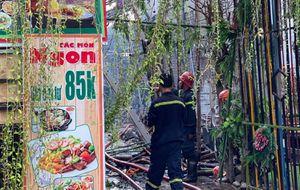 Cháy Trung tâm tiệc cưới tại TP Hồ Chí Minh