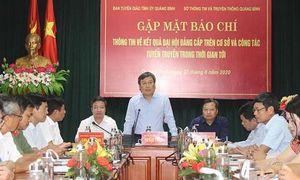 Quảng Bình hủy mua cặp đựng tài liệu trị giá 2,2 tỷ phục vụ Đại hội Đảng
