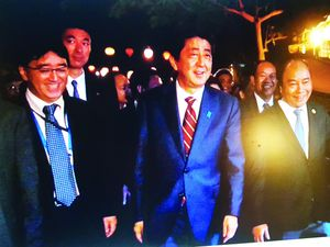Shinzo Abe, mùa Thu mười bốn năm trước