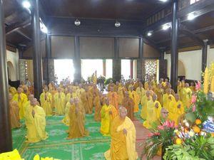 Lâm Đồng : Chư Tăng làm lễ Tự tứ