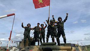 Các đội của Việt Nam giành thành tích cao tại Army Games 2020