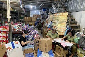 Xóa sổ kho hàng gia dụng nhái sản phẩm của Công ty TNHH Tân Hợp Thành