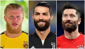 Ronaldo và các ngôi sao trông thế nào khi 'râu ria xồm xoàm'?