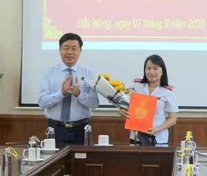 Đắk Nông bổ nhiệm nữ Chánh thanh tra tỉnh 43 tuổi