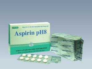 Thuốc giảm đau Aspirin pH8 bị xử lý vì không đạt chuẩn chất lượng