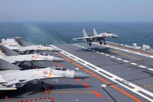 Hai tàu sân bay Trung Quốc tập trận cùng lúc ở Bột Hải và Hoàng Hải