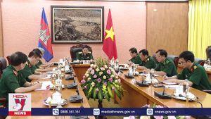Tăng cường hợp tác quốc phòng Việt Nam – Campuchia