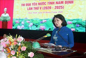 Phó Chủ tịch nước: Công tác thi đua, khen thưởng phải có tính nêu gương thực sự