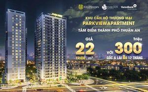 Đầu tư sinh lời với dự án căn hộ thương mại ParkView Apartment