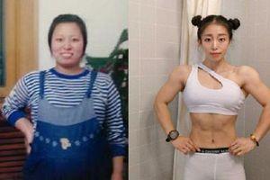 Giảm liền 35kg, cô giáo 8x sở hữu cơ bắp vạm vỡ khiến dân tình 'tròn mắt' ngưỡng mộ