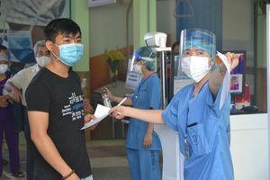 Ghi nhận trong ngày đầu Bệnh viện Đà Nẵng mở cửa khám chữa bệnh trở lại