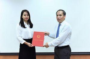 Bổ nhiệm nữ Phó Cục trưởng Cục II thuộc Cơ quan Thanh tra, giám sát ngân hàng