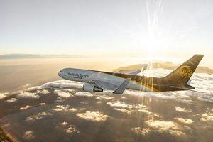 Chuyến bay mang biểu tượng 'Browntail' của UPS lần đầu đến Việt Nam