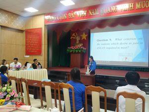 20 thí sinh tham gia Hội thi tiếng Anh