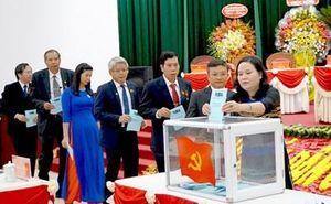 50 đại biểu được bầu vào Ban Chấp hành Đảng bộ tỉnh Kon Tum nhiệm kỳ mới