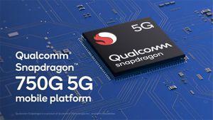Snapdragon 750G: Chip 5G, nhanh hơn, AI mạnh hơn, giá mềm hơn