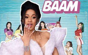 Fan Momoland phát hiện Cardi B sử dụng y đúc vũ đạo của BAAM cho WAP, là vô tình hay cố ý?