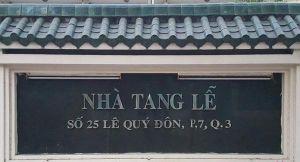 Nhà tang lễ TPHCM tại quận 3 dự kiến dừng hoạt động vào tháng 11-2020