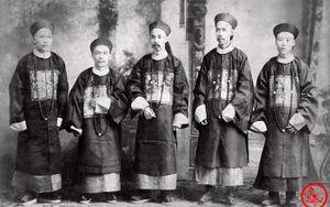 Loạt ảnh khắc họa tướng mạo thật của các vị quan văn võ cuối triều nhà Thanh