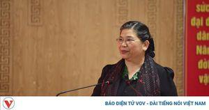 Phó Chủ tịch Quốc hội Tòng Thị Phóng tiếp xúc cử tri tại Mộc Châu, Sơn La