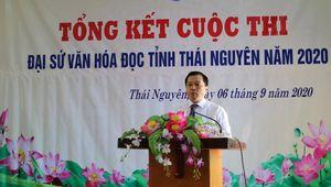 Trao giải cho 40 'Đại sứ' văn hóa đọc tỉnh Thái Nguyên năm 2020