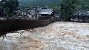 Mưa lớn lịch sử 63 năm ở Lào Cai khiến 2 người chết, thiệt hại gần 5 tỷ đồng